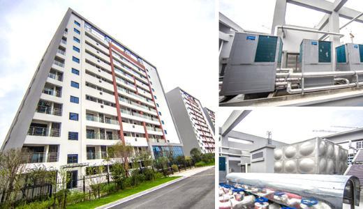 办公楼可以选择潍坊空气源热泵采暖吗-潍坊空气源工程安装公司