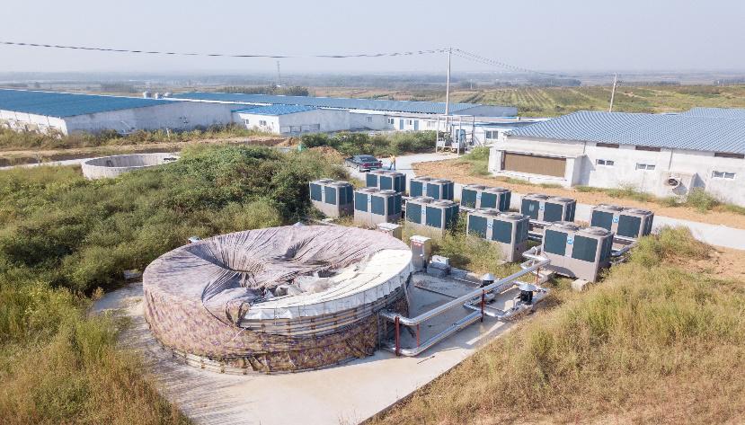 潍坊空气源热泵在养殖大棚行业中的应用-潍坊空气源工程安装公司