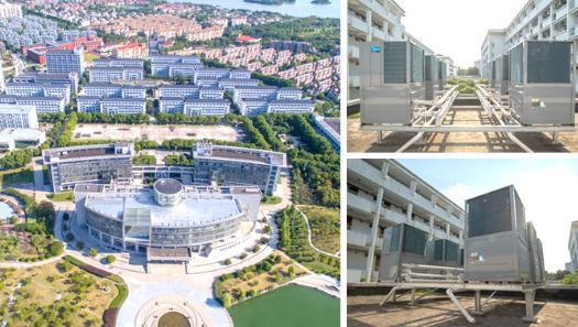 潍坊学校幼儿园空气能中央热水工程-潍坊空气源工程安装公司