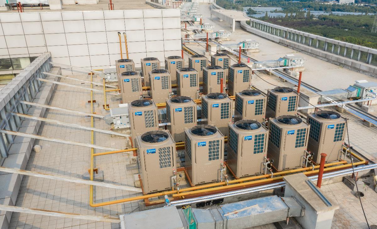 潍坊医院空气能热水解决方案-潍坊空气源工程安装公司