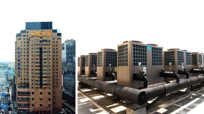 医院热水工程-潍坊空气源热泵公司