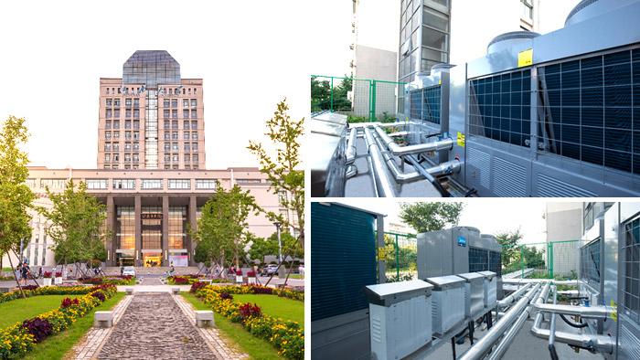 潍坊足浴洗浴中心热水工程解决方案-潍坊空气源工程安装公司