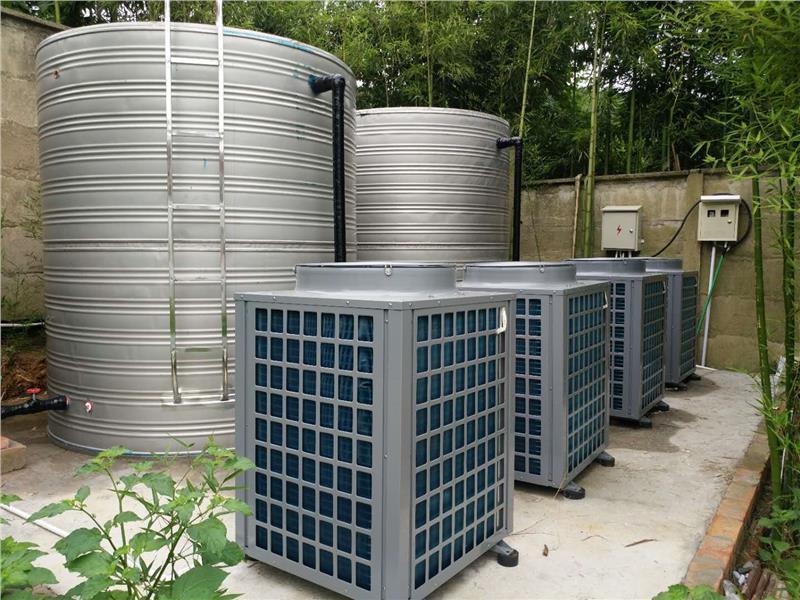 空气源热泵热水工程如何正确安装?-潍坊空气源工程安装公司