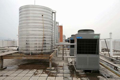 山东屠宰场空气能热水工程介绍-潍坊空气源工程安装公司